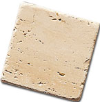 Marmo anticato : Travertino Chiaro